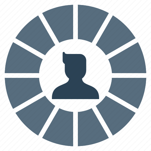 avatar, chart, employee, graph, male, performance, user icon