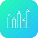 analysis, business, chart, graph, infographic, performance, statistic icon
