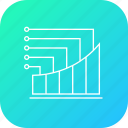 analysis, chart, column, graph, infographic, report, statistic icon