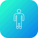 analysis, business, decrease, employee, infographic, performance, statistic icon