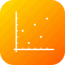 analysis, business, dot, graph, infographic, report, statistic icon