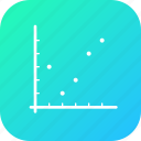 analysis, business, chart, dot, graph, infographic, statistic icon