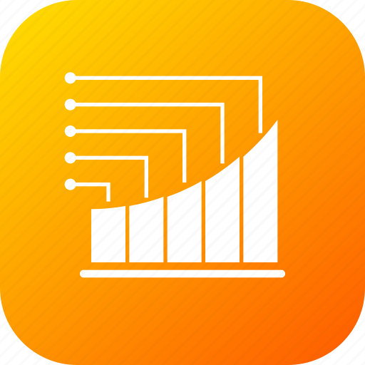 analysis, bar, chart, graph, infographic, report, statistic icon