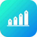 analysis, chart, graph, infographic, percentage, report, statistic icon