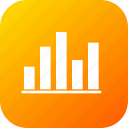 analysis, business, chart, graph, infographic, statistic, up icon