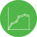 analysis, business, chart, graph, infographic, report, success icon