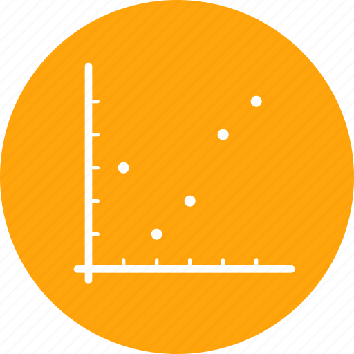 analysis, chart, dot, graph, infographic, report, statistic icon