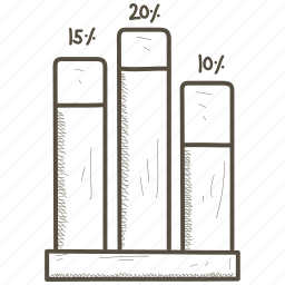 bar, chart, diagram, earn, economics, finance, graph, growth icon