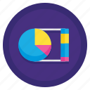 bar, chart, graph, pie, stats