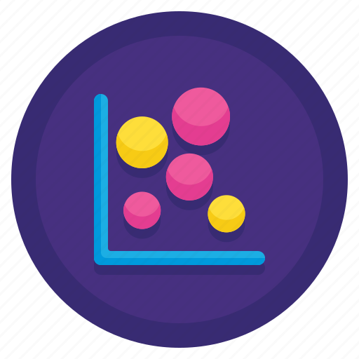 Bubble, chart, graph, stats icon - Download on Iconfinder