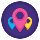 element, location, markers, pins icon