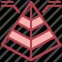basic, chart, graph, infographic, pyramid, statistics
