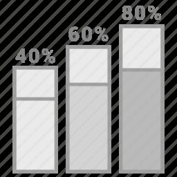analytics, chart, finance, graph, growth, sales icon