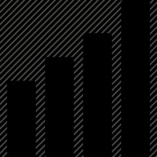 analysis, bar, chart, column, graph, performance, statics icon