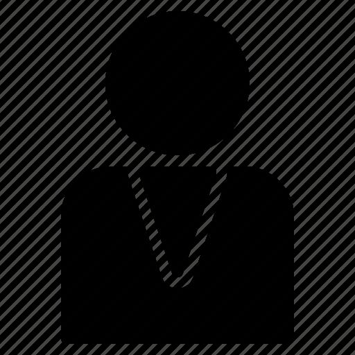 avatar, businessman, male, man, person, profile, user icon
