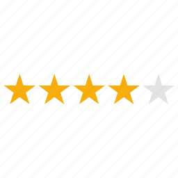 evaluation, favorite, infographics, rating, stars icon