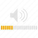 audio, infographics, music, sound, volume, volume control icon