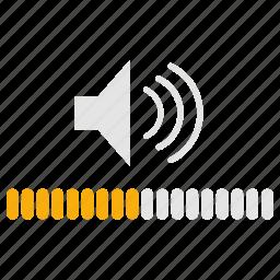 audio, control, infographics, music, sound, volume, volume control icon