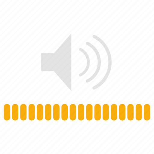 infographics, sound, volume, volume control icon