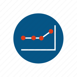 arrow, business, chart, diagram, infographic, report, statistics icon