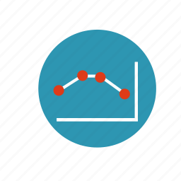 arrow, business, chart, diagram, finance, infographic, statistics icon