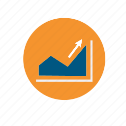 arrow, arrows, business, chart, diagram, infographic, statistics icon