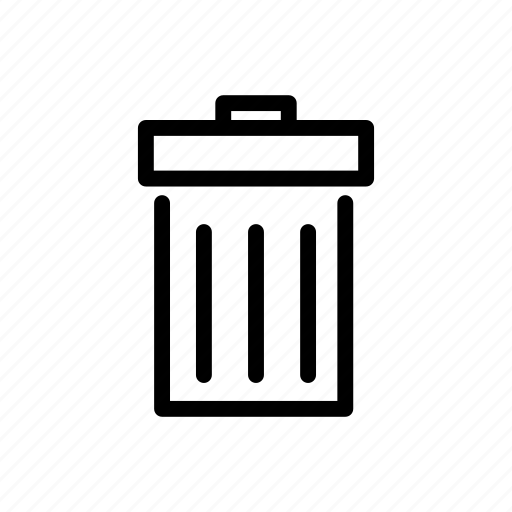 inforamtion, inforgraphic, trash, wastebasket icon