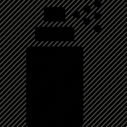 aerosol, container, ink, paint, pressure, spray icon