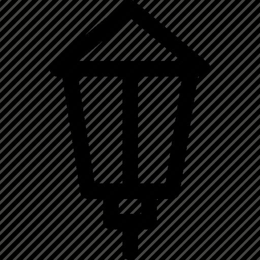 city, illuminator, lamp, lantern, light, retro, street icon