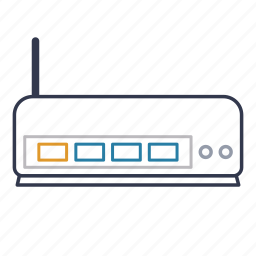browser, connection, internet, network, router, web, wireless icon
