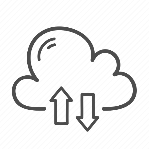Cloud, transfer, computing, data, network, server icon - Download on Iconfinder