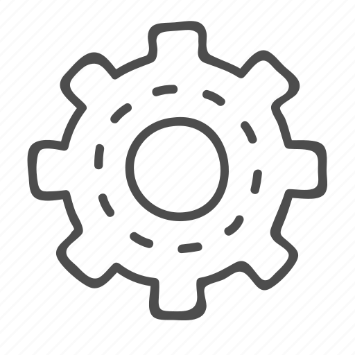 cog, cogwheel, configuration, mechanism, options, setting icon