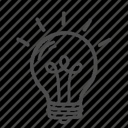 blub, bulb, creative, idea, innovation, lamp, thinking icon