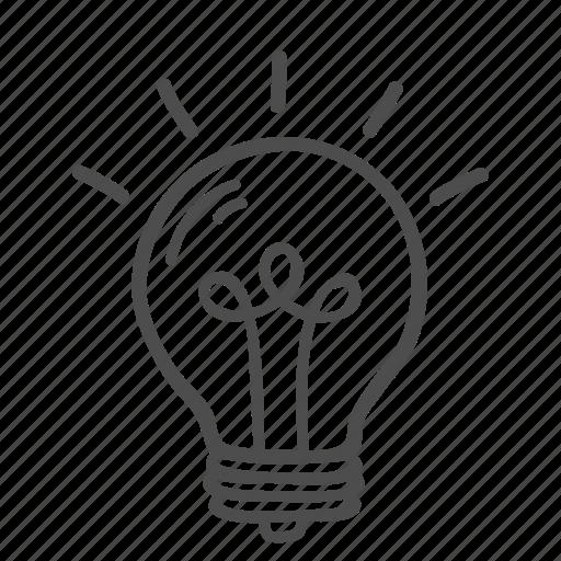 Blub, idea, bulb, creative, innovation, lamp, thinking icon - Download on Iconfinder