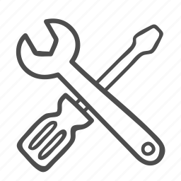 configuration, control, repair, setting, settings, tools, wrench icon