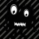 cartoon, ink, monsters