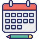 appointment, calendar, event, meeting, schedule icon