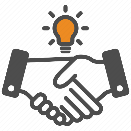Contract, deal, hand, idea, innovation icon - Download on Iconfinder