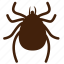 bug, gadfly, insect, insect pests, insecticide, louse, tick icon