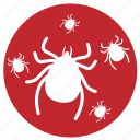 bot, bug, flea, insect pests, insecticide, louse, tick icon