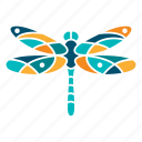 beauty, dragonfly, fly, grace, insect, mystery, nature icon
