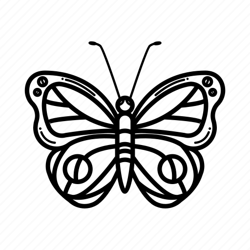 beautiful, butterfly, flap, fly, moth, summer icon