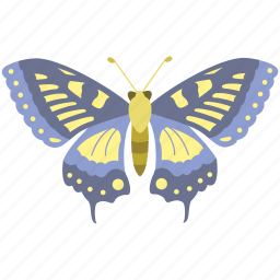 beauty, butterfly, creativity, flutter, insect, life cycle, moth icon