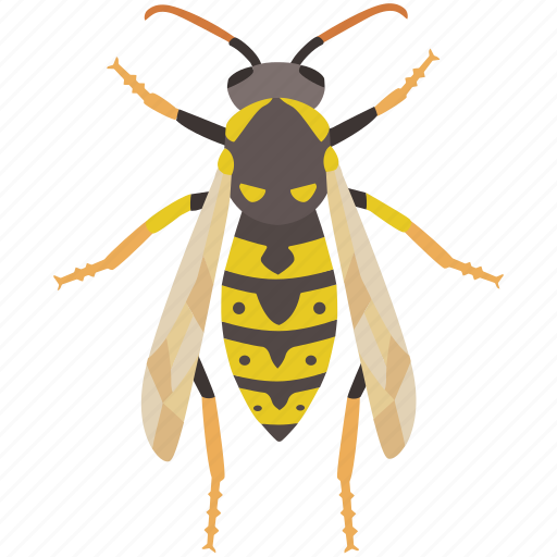 bite, bug, hornet, insect, pest, wasp, yellow jacket icon