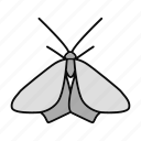 animal, butterfly, insect, lepidoptera, moth, pest, repellent icon