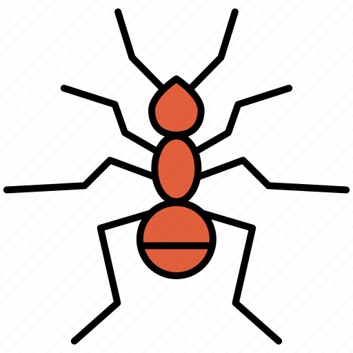 ant, bug, fly, insect, insects, nature, pest icon