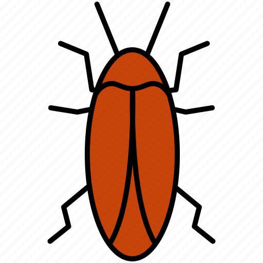 bug, cockroach, fly, insect, insects, pest icon