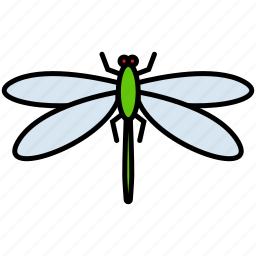 dragonfly, fly, insect, insects, nature icon