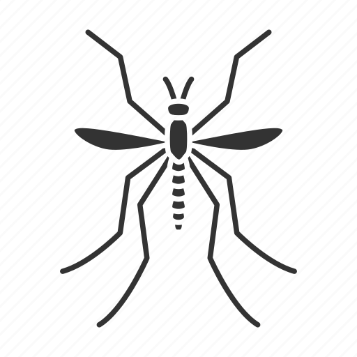 biting, bloodsucker, culicidae, flying, insect, midge, mosquito icon