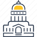 build, education, institution, study icon